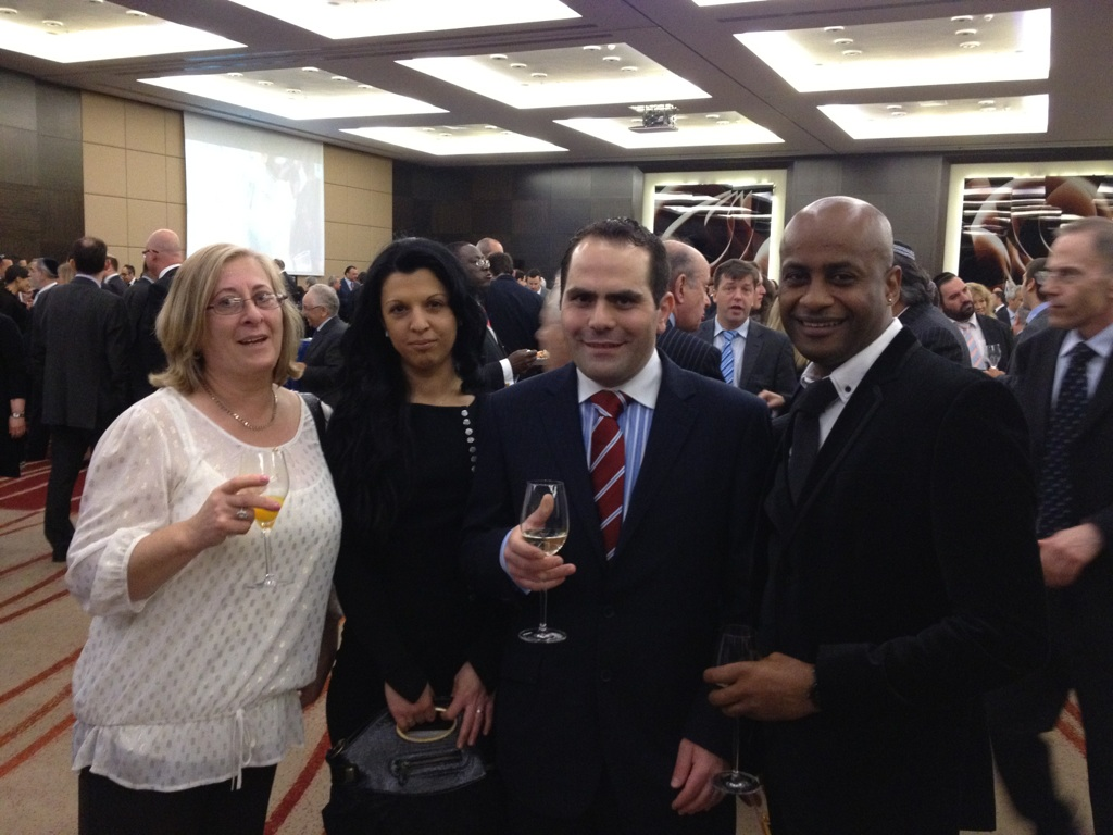 Our People at the 64th Anniversary of the Independence of State of Israel